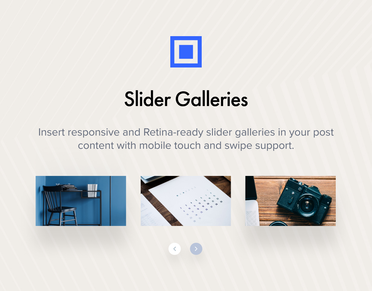 Slider Galleries