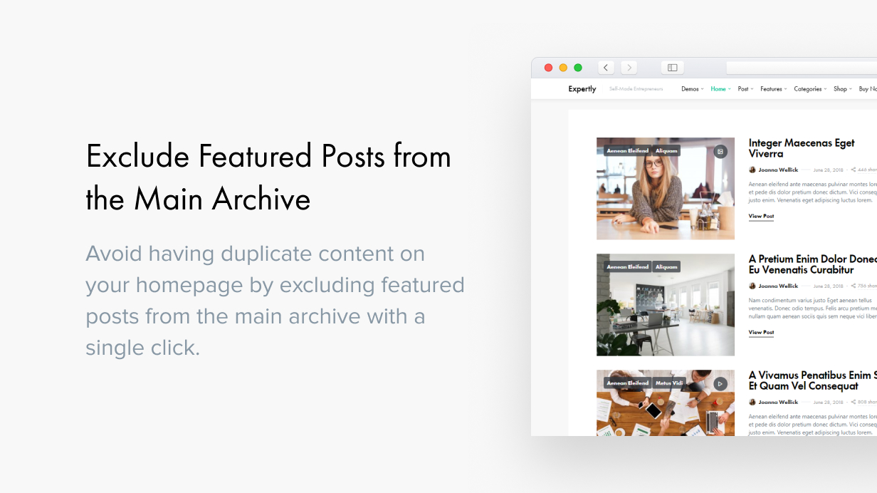 Expertly - WordPress Blog & Magazine Theme for Professionals - 33