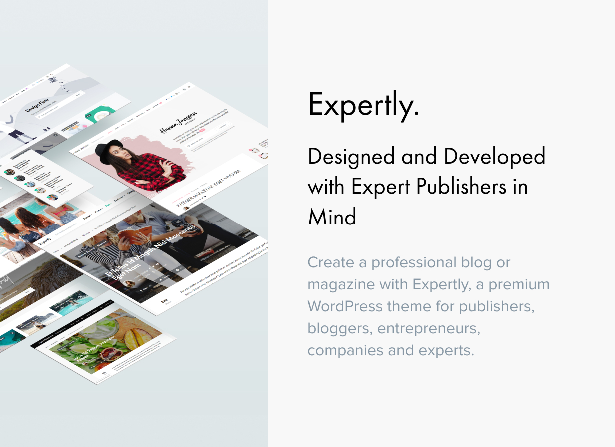 Expertly - WordPress Blog & Magazine Theme for Professionals - 1