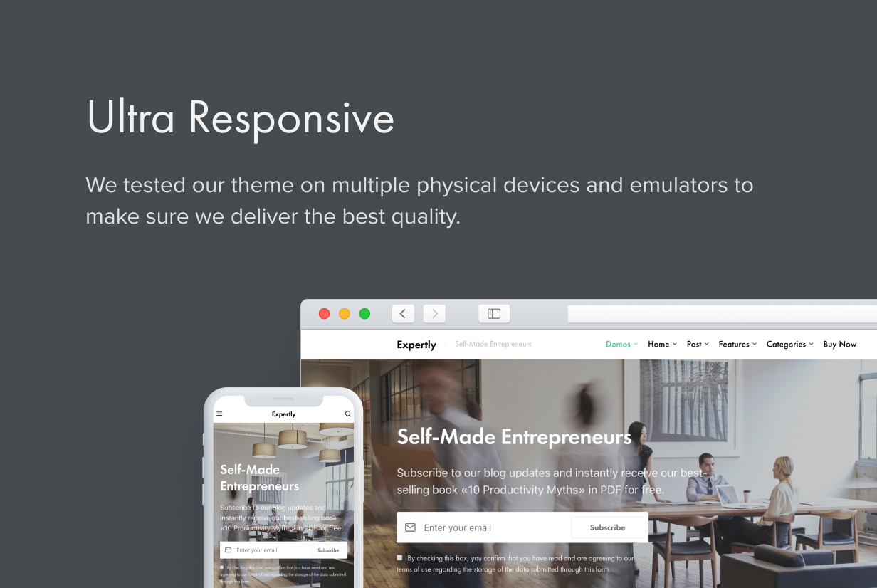 Expertly - WordPress Blog & Magazine Theme for Professionals - 54