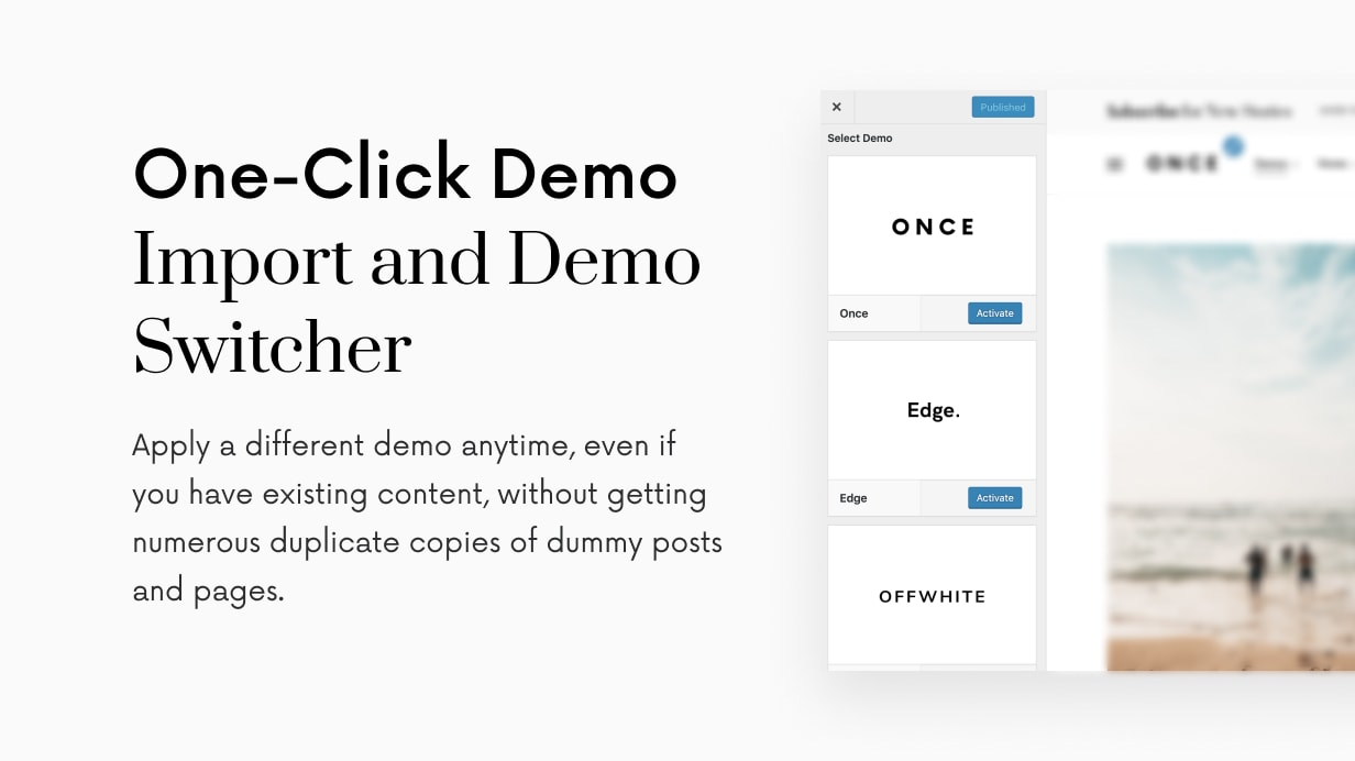 Once: clean and elegant WordPress blog theme - 55