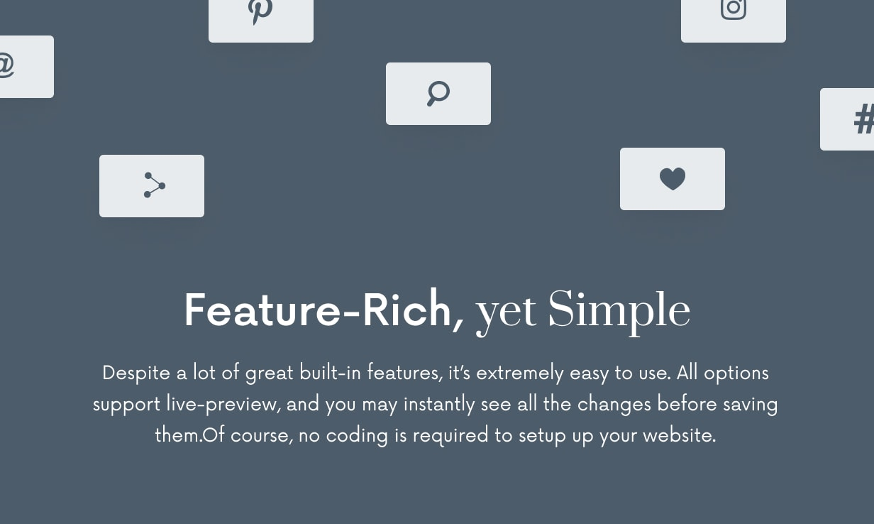 Once: Clean and Stylish WordPress Blog Theme - 64
