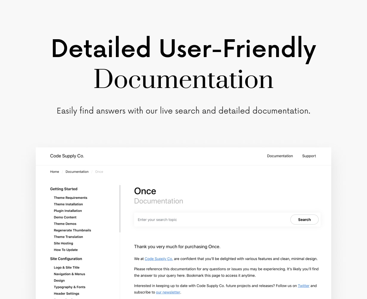 Once: Clean and Stylish WordPress Blog Theme - 67