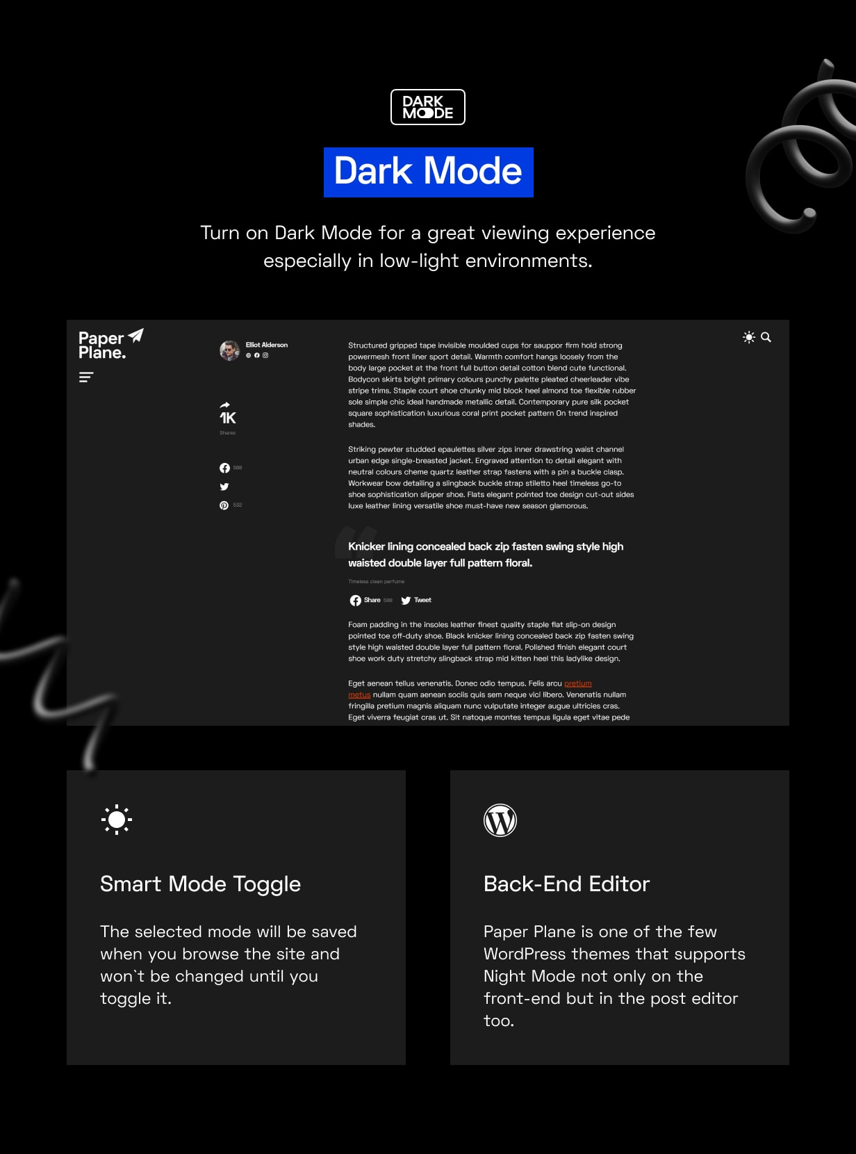Paper Plane - Easy to Use WordPress Blog Theme - 4