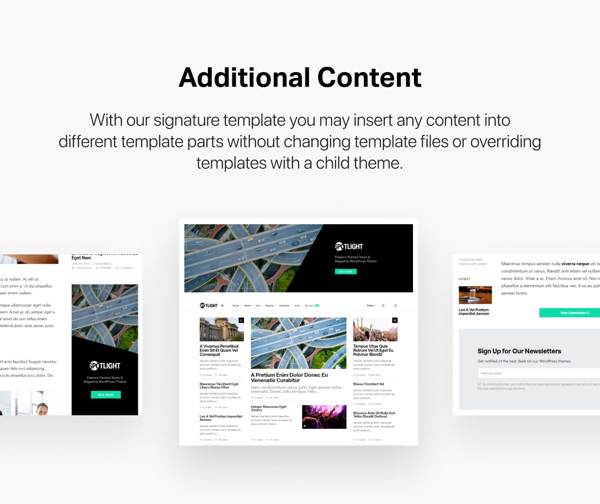 Spotlight - Feature-Packed News & Magazine WordPress Theme - 38