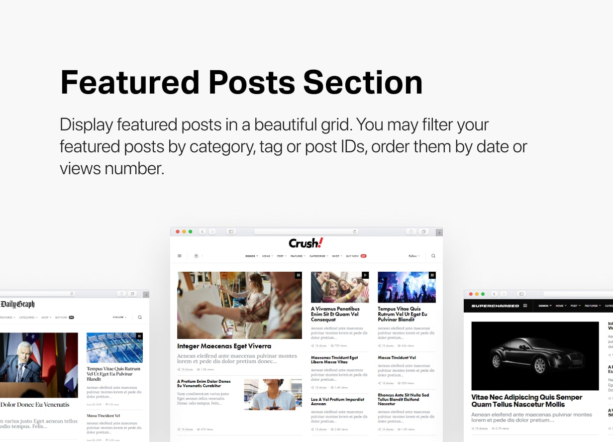 Spotlight - Feature-Packed News & Magazine WordPress Theme - 3