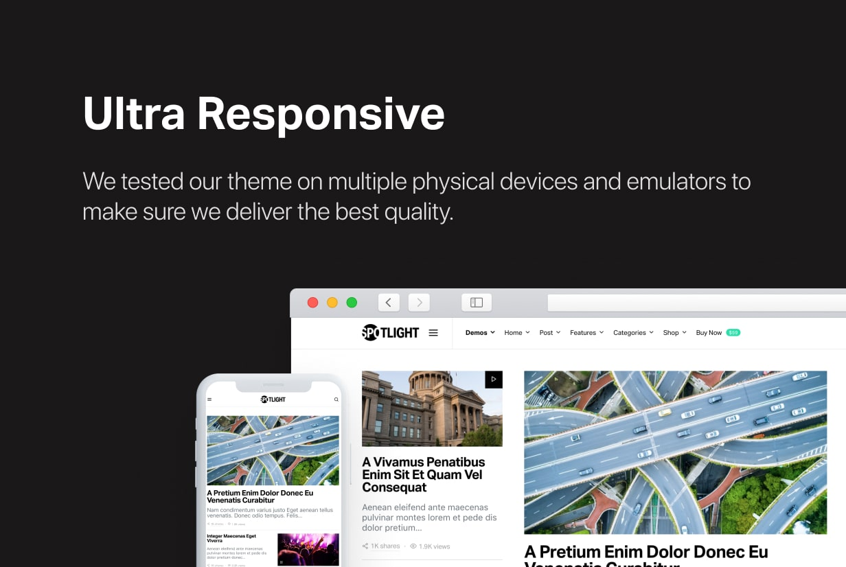 Spotlight - Feature-Packed News & Magazine WordPress Theme - 50