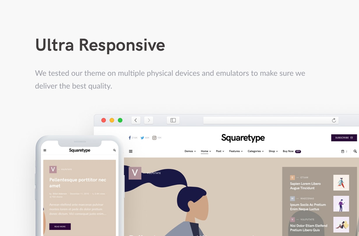 Squaretype - Modern Blog WordPress Theme - 50