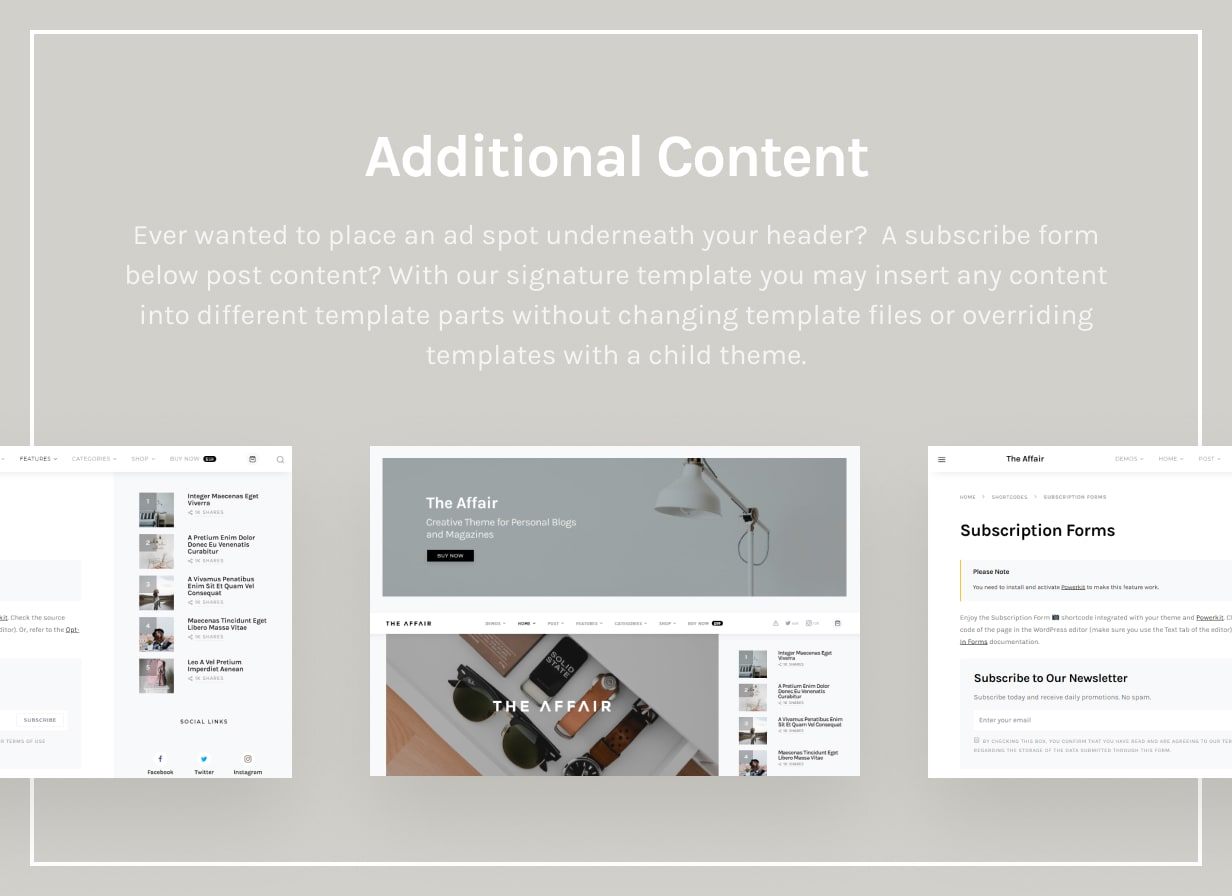 The Affair - Creative Theme for Personal Blogs and Magazines - 42