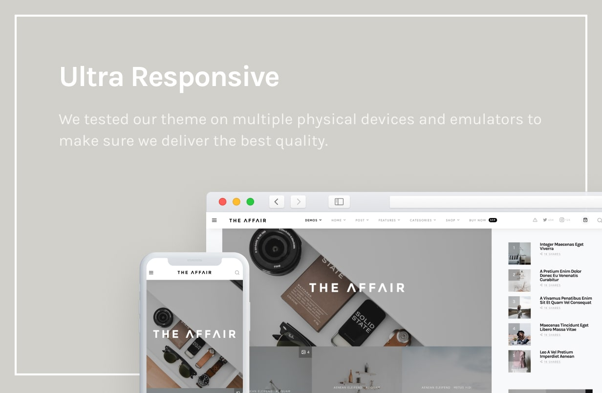 The Affair - Creative Theme for Personal Blogs and Magazines - 54