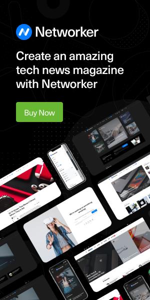 networker banner billboard dark