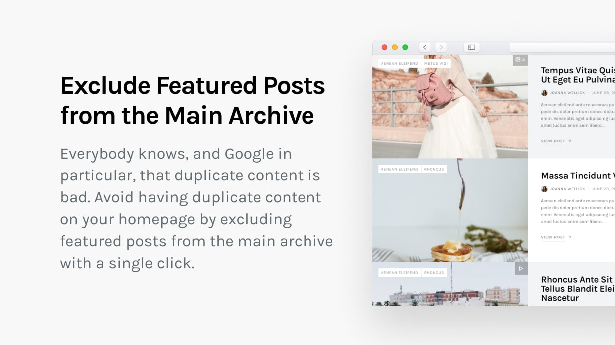 The Affair - Creative Theme for Personal Blogs and Magazines - 25