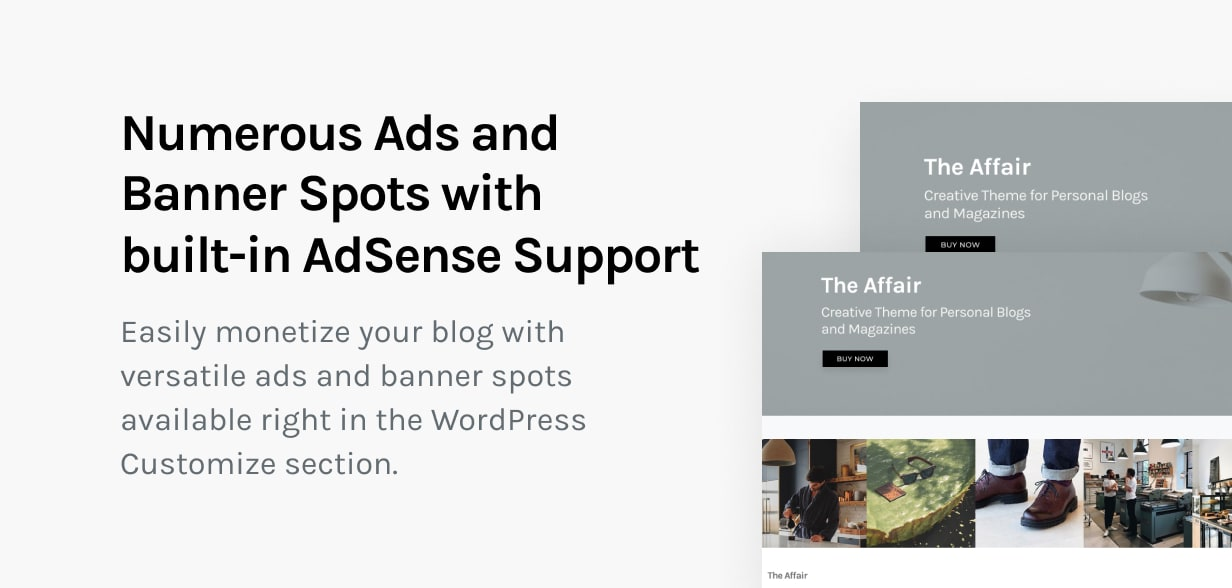 The Affair - Creative Theme for Personal Blogs and Magazines - 14