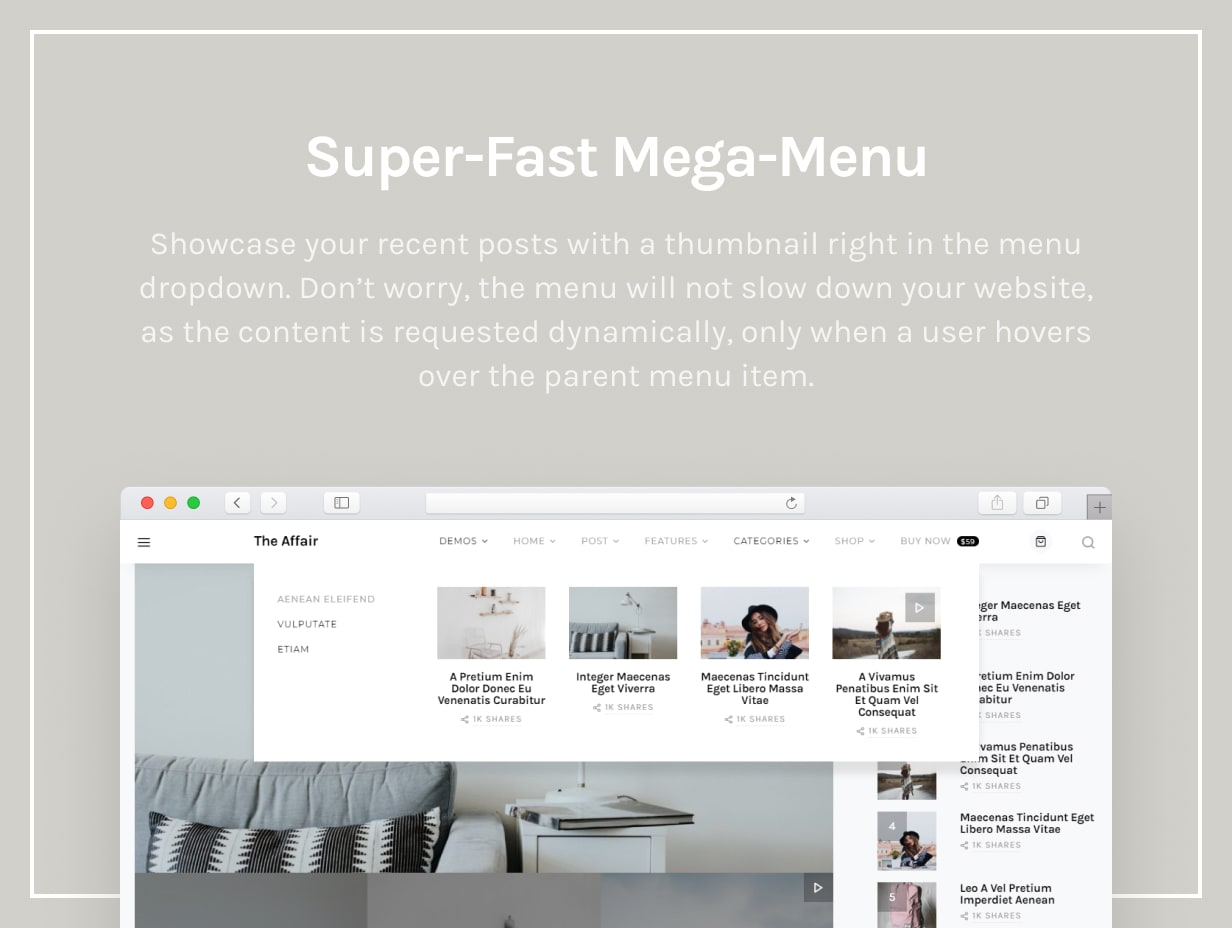 The Affair - Creative Theme for Personal Blogs and Magazines - 23