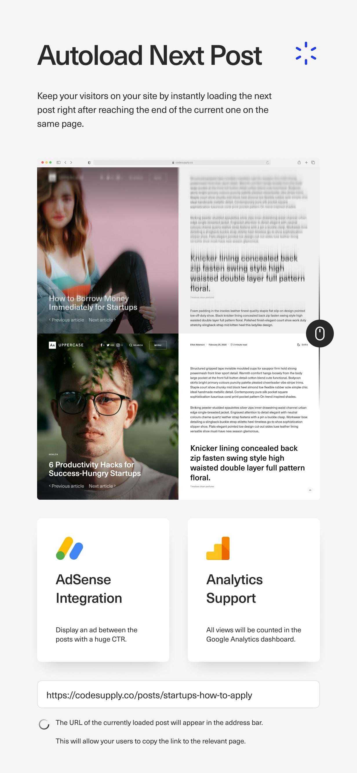 Uppercase - WordPress Blog Theme with Dark Mode - 16